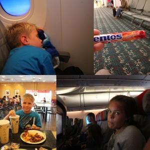 Middag på Panda Express før vii dro. Kjøpte Mentos med kanelsmak på flyplassen! URK! Så noen timer på fly før vi landa trygt i Oslo 27 minutter etter skjema. :D