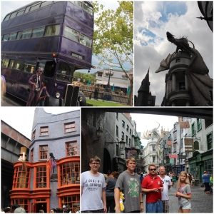 Wizarding World of Harry Potter!! Diagon Alley og the Knight Bus