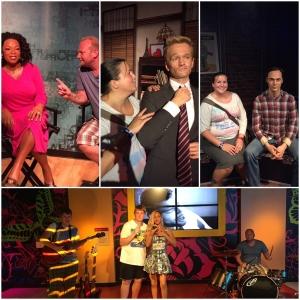 Hør nå her Oprah! Gutta spiller og synger med Rihanna! Jeg møter både Barney Stinson og Sheldon Cooper! <3