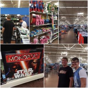 Neste dag ble brukt til Shopping! På Walmart på Turkey Lake Road!
