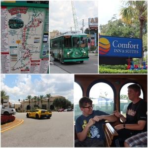 I-Trolley! Kart av International Drive!