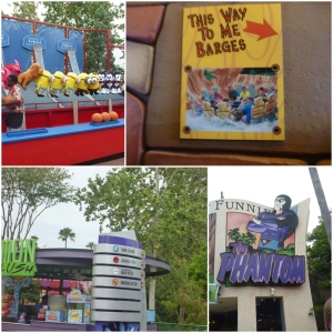 Vi spilte ikke, (hadde sikkert vunnet en diger en vi ikke hadde fått med oss) Toon Lagoon! Med Ripsaw Falls og Popeye an Bluto's Bilge Rat barges! You MAY/WILL get wet!