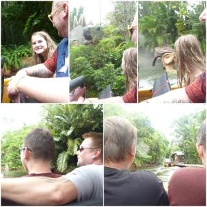 Så kjører vi River Adventure i Jurassic Park!