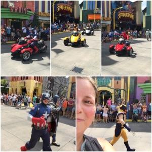 Superhero Parade!