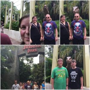 Raptor Encounter at Jurassic Park!
