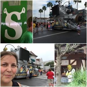 Shrek. Minion Parade!