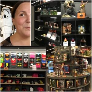 Så innom Artegon shoppingsenter. Fant en herlig Comicbookshop!