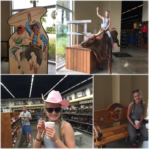 Innom Cowboy butikken! ;D