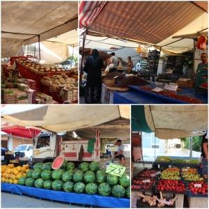 eg og Lene dro på market i Oba!