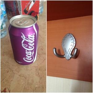 Lille cola og en full blekksprut som vil sloss!