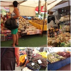 Masse frukt og grønt..