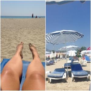 Strandtur igjen..