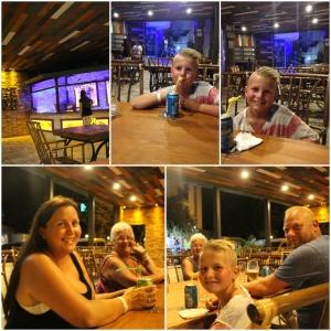 Route 66 American restaurant Alanya. Åpnet dagen før vi skulle hjem. Vi ble de aller første kundene.