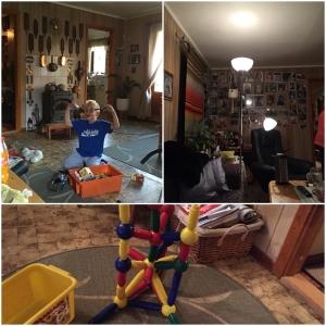 Endelig i sofaen hos mamma! :D Og lekan hos mummo e bestandi så spennanes!