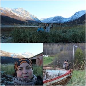 Mine fineste og manndalen! :D Selfie i fjæra! :D