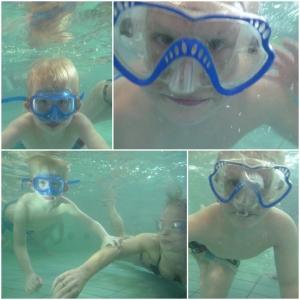 Og undervannsbilder.