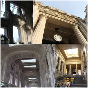 The Central Station of Milan. Amazing building.