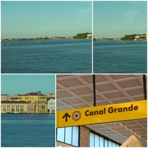 On the Train in to Venice St Lucia.