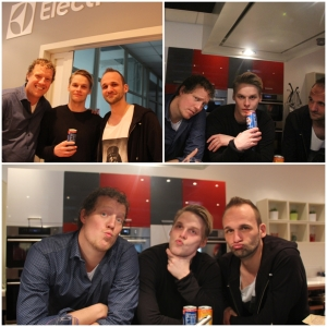 Stike a pose guys! This is at Electrolux! Duckface!!!